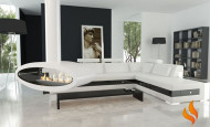 Style moderne en noir et blanc