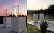 Bio cheminée Babele – le feu prisonnier du verre