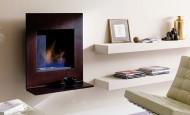 Bio cheminée X093 Mensola de marque Ozzio Design – une association idéale