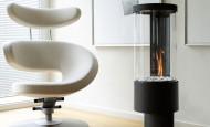 La bio cheminée Easy Heat – la simplicité et l'élégance  – deux en un