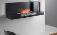 Une relaxation moderne avec la cheminée éthanol Zen