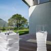 Une sculpture dans l'espace – cheminée éthanol Rubik