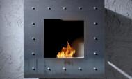 Bio cheminée Coblonal – la flamme comme une image encadrée