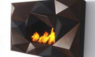 L'éco-cheminée Crystal – une flamme habillée en cristal