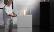 Cube – le feu à différentes hauteurs