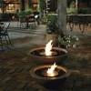 Mix Fire Bowls de la société EcosmartFire – des bols en flammes