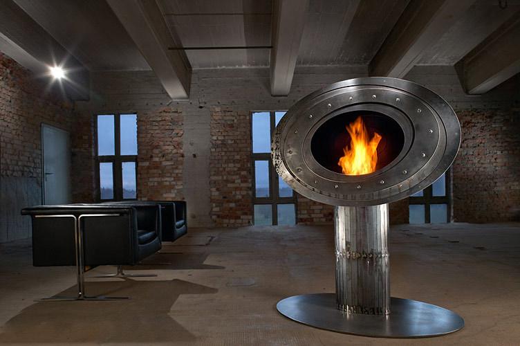cheminee ethanol loft