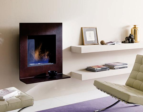 cheminee ethanol bioethanol fireplace ozzio design X093 Mensola 1