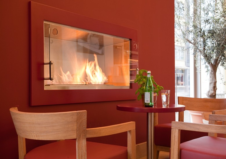 bio chemin es ecosmart fire dans les restaurants vapiano lovter. Black Bedroom Furniture Sets. Home Design Ideas