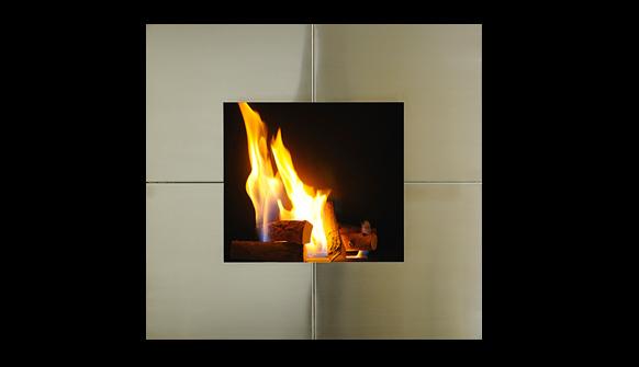 Chemin e ethanol la flamme dans un d cor sublime lovter - Comment allumer une cheminee ...
