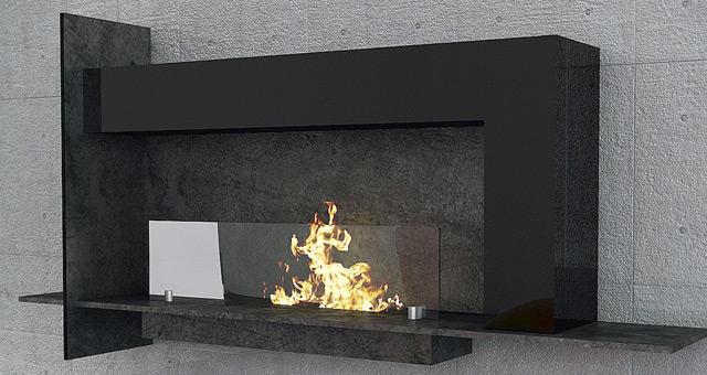 cheminee ethanol Graffiti maisonfire