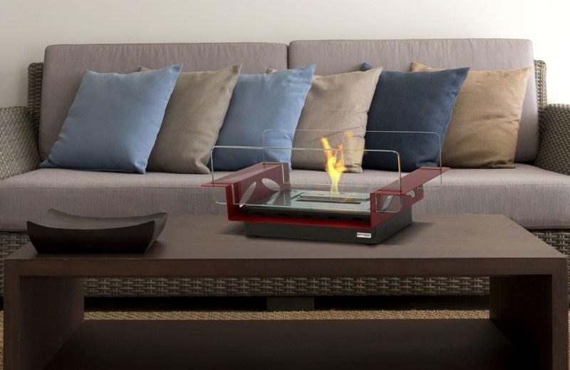 rialto une chemin e thanol table lovter. Black Bedroom Furniture Sets. Home Design Ideas