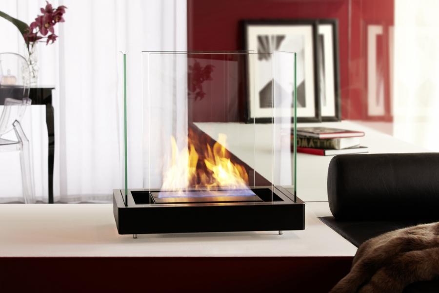 bio cheminee radius design top flame